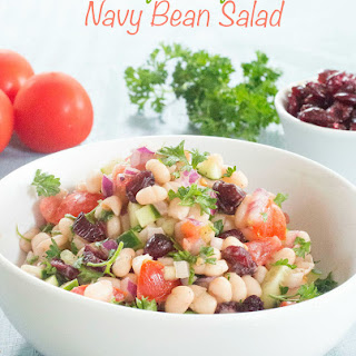 Navy Beans Salad Recipe