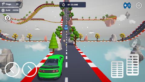 無料カースタント3D - 極上のシティカーレーシングのおすすめ画像5
