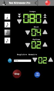 Metronome Pro screenshot 2
