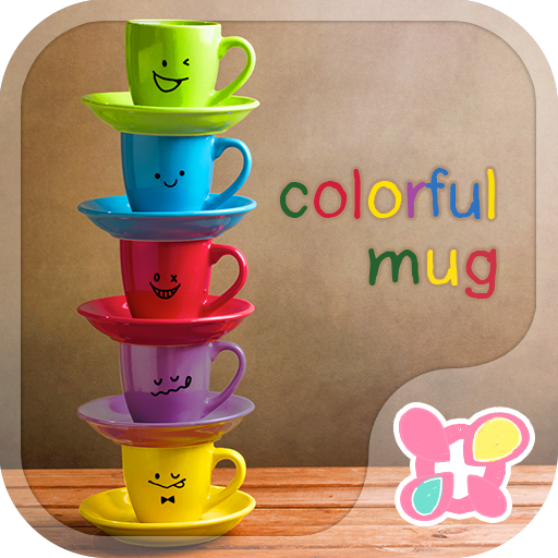 Rainbow Mugs Theme Icon