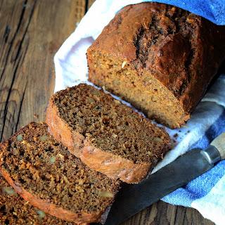 Molasses Walnut Banana Bread