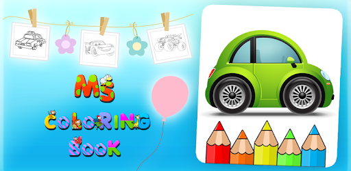 Kids Coloring Pages For Cars Aplikasi Di Google Play