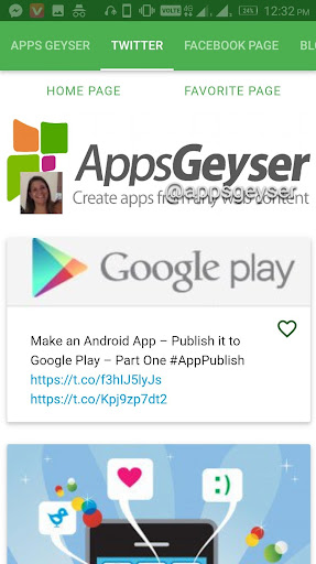 Apps Geyser app (apk) free download for Android/PC/Windows
