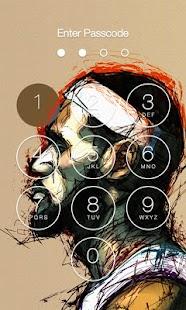 Lebron James HD X Lock Screen - náhled