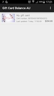 Gift card balance android apps on google play gift card balance screenshot thumbnail negle Images