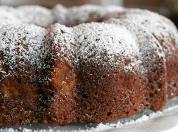 Fresh Apple Cake With Sauce Recipe