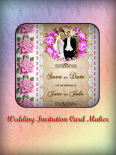 Wedding invitation card designer app 2017 new apps on google play screenshot image stopboris Choice Image