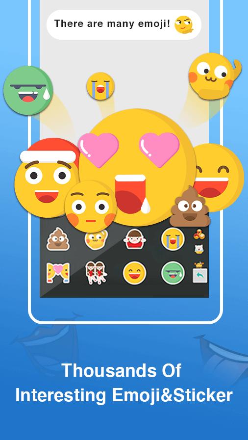 ABC Keyboard - TouchPal Emoji, Theme, Sticker, Gif APK