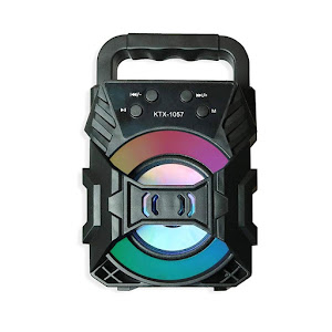 Boxa portabila Bluetooth KTS-1057, AUX, USB, Radio FM