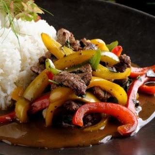 Pepper Beef Stir Fry Recipe