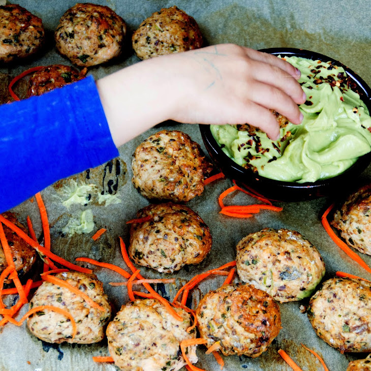 Healthy Salmon Cake With Coriander Seeds