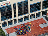 Google's North America Office in Irvine, CA, United States.