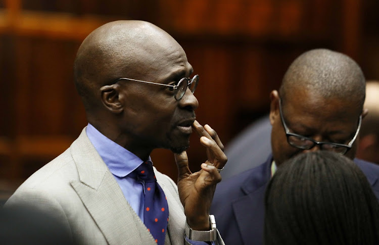 Minister of Home Affairs Malusi Gigaba.