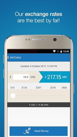 android AirCoinz Screenshot 1
