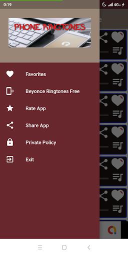 best beyonce ringtones offline screenshot 2