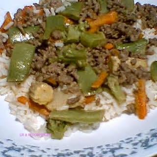 Frugal Family Food- Easy Asian Stir Fry.