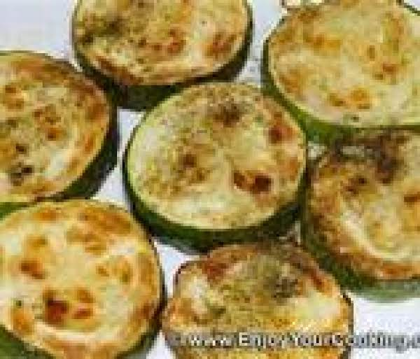 Pan Fried Zucchini And Red Pepper