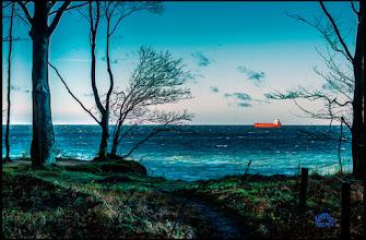 Photo: das rote Schiff