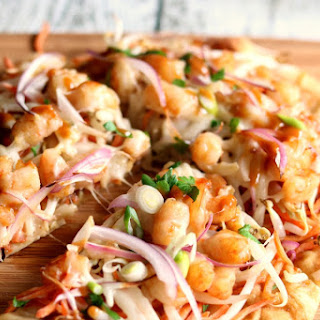 Thai Shrimp Pizza
