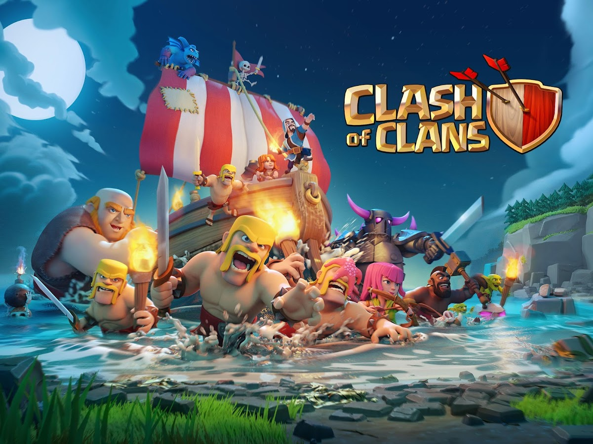 Clash of Clans– captură de ecran