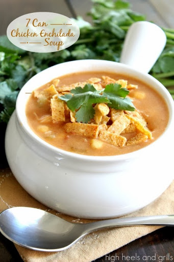 7 Can Chicken Enchilada Soup