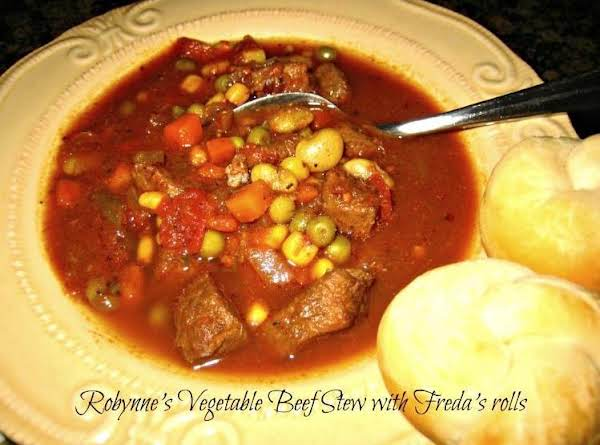 Robynne's Vegetable Beef Stew Recipe