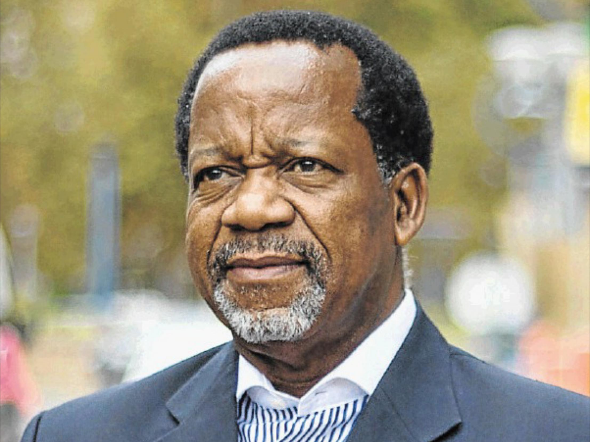 Kenneth Meshoe displays no symptoms and remains in good health despite testing positive for Covid-19.