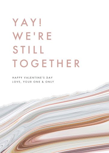 We're Still Together - Valentine's Day Card Template