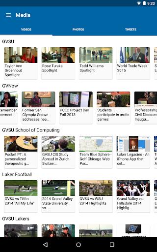 GVSU Laker Mobile screenshot 8