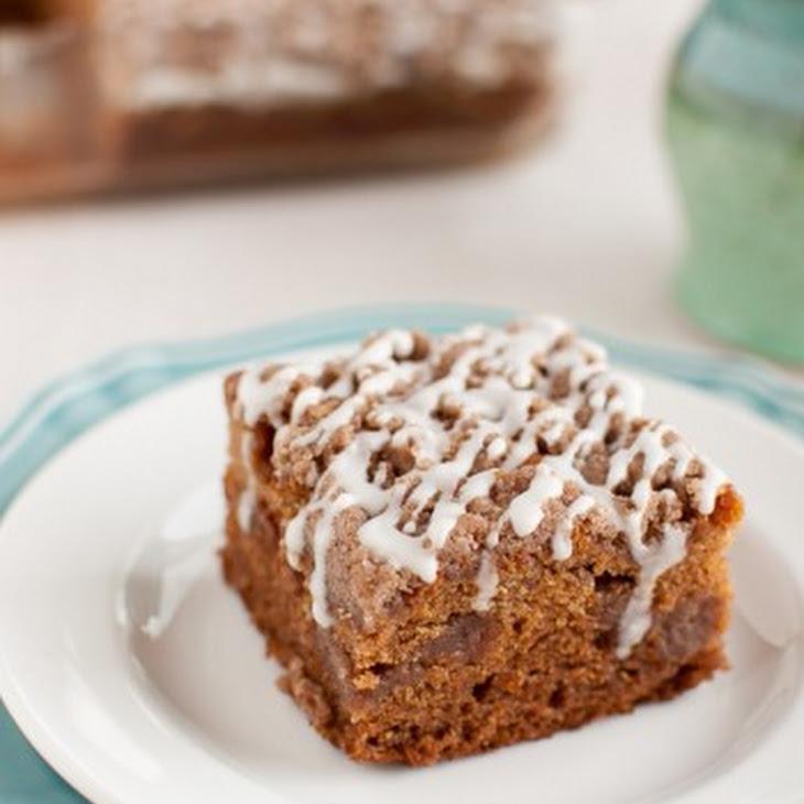 Gluten Free Cinnamon Streusel Coffee Cake Recipe