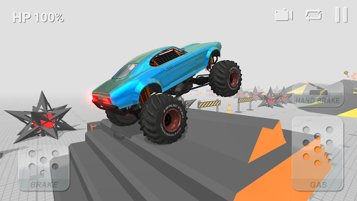 Test Driver: Offroad Driving Simulator screenshots 2