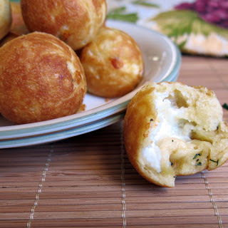 Three Cheese Rosemary and Garlic Pizza Bites in a Cake Pops Maker