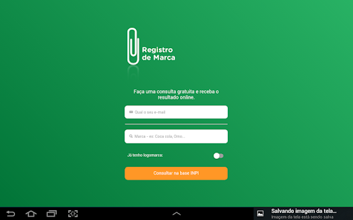 Registro de Marca- screenshot thumbnail