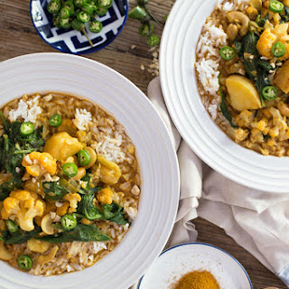 Almond Milk Curry Recipes.