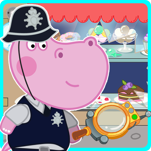 Kids Policeman games: Hippo Detective