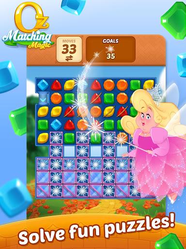 Matching Magic: Oz - Match 3 Jewel Puzzle Games screenshot 10