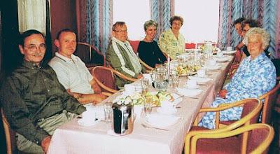 Photo: Terje Ostrem's family luncheon in Sauda