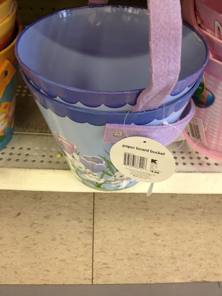 """Photo: Lots of baskets everywhere!  They are all so cute too.  I really wanted to find one that I could """"Craft- Up""""!"""