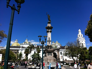 Photo: Plaza de Independencia, Old Town, Quito