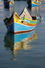 Photo: Luzzu fishing boat, Marsaxlokk, Malta