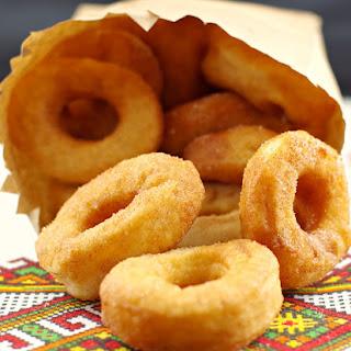 Pampushky - Ukrainian Doughnuts.