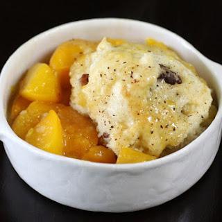 Peach Dumplings Dessert.