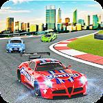 Fast Car Drive Car Racing Game Icon
