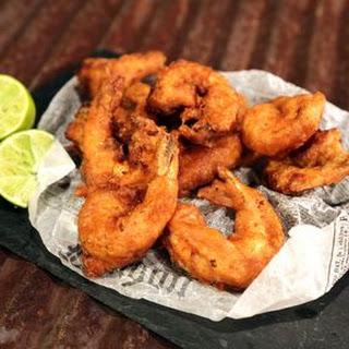 Spicy Fried Shrimp.