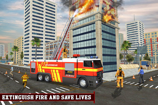 Download Firefighter Real Truck: Free Firebrigade Games on PC & Mac