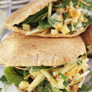Healthy Pitta Sandwiches.