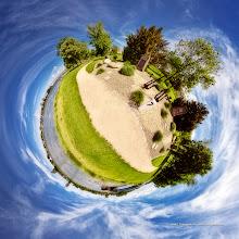 Photo: MiniPlanète - Jardin des deux Rives, coté Allemand