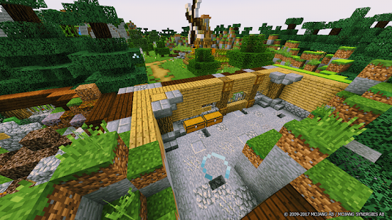 Village MCPE Map - náhled
