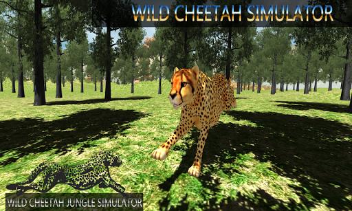 Wild Cheetah Jungle Simulator