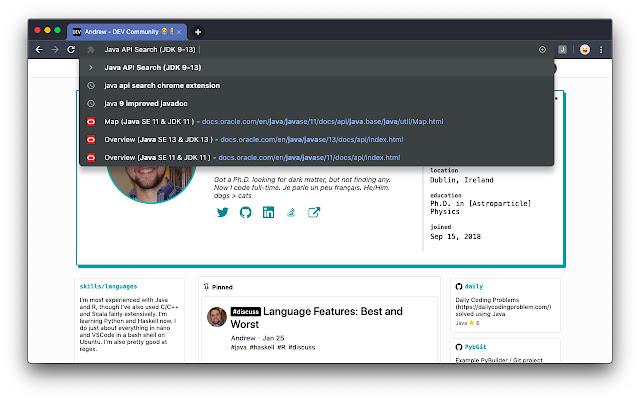 Java API Search (JDK 9-13)